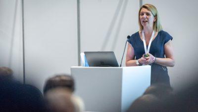 Beth Loudon speaking at P4H England